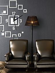 Otros Moderno/Contemporáneo Reloj de pared , Otros Plástico 18*20 inch (46*52cm)