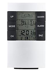 433mhz rf station météo réveil humidité de mesure de la température thermomètre hygromètre numérique sans fil