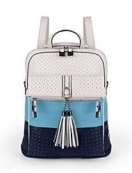 KAILIGULA Tassel printing wave backpack schoolbag