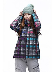 Women's Tops/Ski/Snowboard Jackets Skiing/Camping &Hiking/Snowsports/Downhill /SnowboardingWaterproof/Breathable