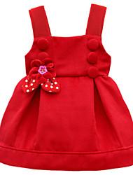 Girl's Red Dress,Dresswear Polyester Winter / Fall