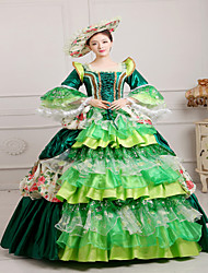 Steampunk®Georgian Green Victorian Gown Party Dress Marie Antoinette Wholesalelolita Rococo Evening Dresses
