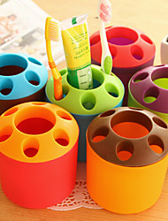 Candy Colored Toothbrush Holder