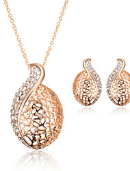 May Polly Fashion Jewelry Necklace Earrings Set