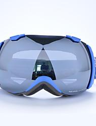 basto TPU bleu cadre argent lunettes capteur ski de neige