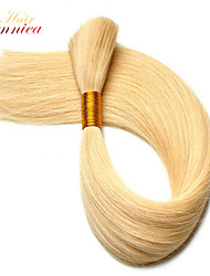 3Pcs/Lot 100% Unprocessed peruvian human bulk human hair products straight Grade 6A can be dyed In Sotck