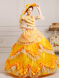 Steampunk®Top Sale Yellow Alice Dress Victorian Party Dress Wholesalelolita Rococo Princess Prom Dresses
