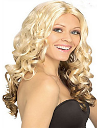 Long Fashion Blonde & Brown  Color Syntheic Wave  Wig