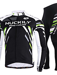 NUCKILY Bike/Cycling Jersey / Jersey + Pants/Jersey+Tights / Clothing Sets/Suits Women's / Men's Long SleeveBreathable / Quick Dry /