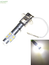 H3 PK22S 35W 7 x CREE LED White 6000K Car Headlight Bulb Fog Light Headlight Lamp AC/DC 9-30V