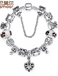Luxury Charms Beads Fit  Bracelet  Charm And Beads Fashion Pulseiras For Women