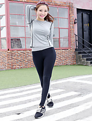 Dance Yoga Suits New Autumn And Winter Outdoor Fitness Suit Woman Yoga Pants + Yoga Tops Yoga Sets Yoga Clothes
