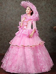 Steampunk®Georgian Pink Victorian Royal Party Gown Marie Antoinette Wholesalelolita Rococo Princess Prom Dresses
