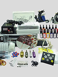 BaseKey Tattoo Kit 220 2 Machines With Power Supply Grips Cups Needles(Ink not included)