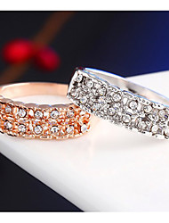 The Stylish Simplicity Crystal Ring Promis rings for couples