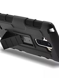 Для Кейс для LG Защита от удара / со стендом Кейс для Задняя крышка Кейс для Армированный Твердый PC LG