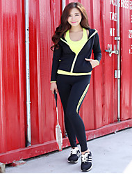 Dance Yoga Suit New Winter Fitness Clothes Yoga Clothing Sets/Suits Yoga Pants + Yoga Tops