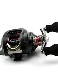 DMK SC120RE-X1 13 Bearing Bait Casting Fishing Reel Gear Ratio 6.3:1 Max Drag 5kg Right Handle Centrifugal Brake