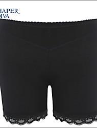 Shaperdiva Women's Mesh Control Pants Butt Lift Hollow Out Body Shaper Enhancer