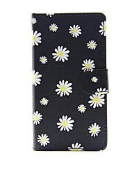 For Apple iPhone 7 7 Plus iPhone 6s 6 Plus iPhone SE 5s 5c 5 Case Cover The Small White Flowers Pattern PU Leather Cases