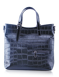 Paste® Best Seller Crocordile Embossing Real Cowhide Handbag