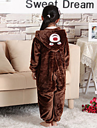 Big Bear Children Cartoon Animals Conjoined  Pajamas