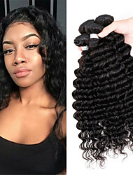 3Pcs/Lot Brazilian Virgin Hair Deep Wave Unprocessed Brazilian Virgin Hair Brazilian Hair Bundles