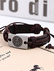 Bracelets Wrap (Alliage / Cuir) Quotidien / Casual / Sports