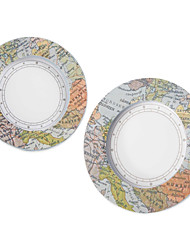 """Travel the World"" mini world map photo frame, place card holder wedding decoration, Party décor"