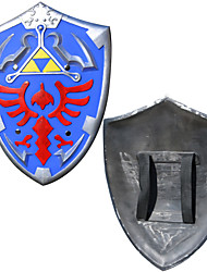 Arme Inspiré par The Legend of Zelda Cosplay Anime Accessoires de Cosplay Arme Bleu ABS / PVC Masculin
