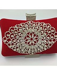 Damen Samt Formell Unterarmtaschen Lila / Blau / Rot / Schwarz