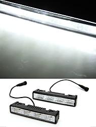 2 * 6W crie White LED DRL feu de jour à la lumière de la course 4 de voiture