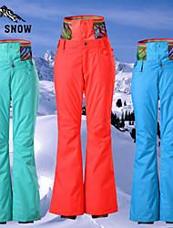 GSOU SNOW Women's Ski Bottoms/Pants Pants Waterproof/Breathable/ Wearable/Windproof/Thermal/Warm