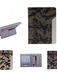 étui en cuir ultramince style camouflage mode cool avec une carte de ceinture cas de support pour ipad air / ipad 5