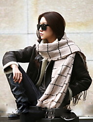Women Luxury Fashion Colorful Oversized Cashmere Winter Neck Warm Scarf Blanket Scarf Female Shawls and Scarves Tippet
