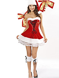 Christmas  New Year Female Princess Series Costumes  Fairytale Costumes / Holiday Jewelry Skirt / Hat / Kneepad