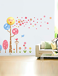 28CM Creative 3 D Wall Paper Wall Lamp Modern Night Light Can Remove The Wall Stickers Led Lights