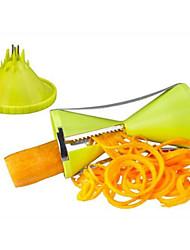 Cortadores de Frutas e Vegetais Aço Inoxidável / ABS ,