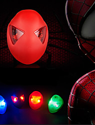 5-LED 3-mode Spider-Man Bicycle Rear/Tail Light Cycling Warning Light