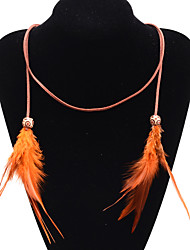 Sweetlovely Candy Color  Feather Bead  Hair Accessories