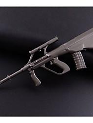 croisées fusils d'imitation feu cf Keychain créative jeu acier de tungstène de la personnalité props petits cadeaux