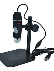 Usb Digital Microscope 1-500X Continuous Zoom Portable Electron Microscope Video Camera Measure S02