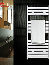 Portasciugamani termico , Moderno Cromo A muro
