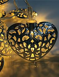 évider 10 lampe, l'amour en fer forgé 2 boîte de la série de la lampe de la batterie