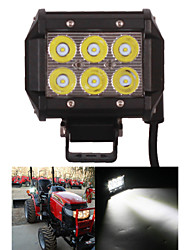 "4"" inch 18W Cree LED Work Light Lamp for Motorcycle Tractor Boat Off Road 4WD 4x4 Truck SUV ATV Spot"