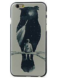 Pour Coque iPhone 6 / Coques iPhone 6 Plus Motif Coque Coque Arrière Coque Chouette Dur Polycarbonate iPhone 6s Plus/6 Plus / iPhone 6s/6