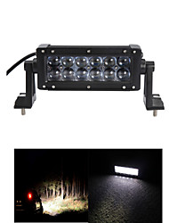 7 inch OSRAM 60W LED Work Light Bar Spot  Beam Day Time Running Lamp Golf Offroad Driving Vehicle Boat 12V 24V