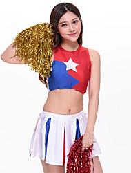 Completi - Per donna - Costumi da ragazza pon pon / Esibizione - Ricami - di Poliester - Multicolore