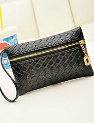 Women PU Professioanl Use Wristlet Black
