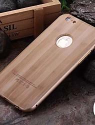 Per Custodia iPhone 6 / Custodia iPhone 6 Plus Placcato Custodia Custodia posteriore Custodia Simil-legno Resistente PCiPhone 6s Plus/6